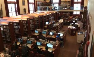 The beautifully refurbished Barnwell Library
