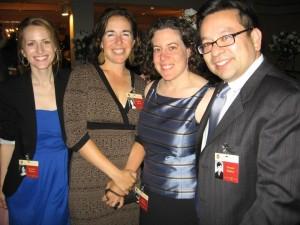 Jenn (far left) and friends-20thCentralHS251Reunion2012