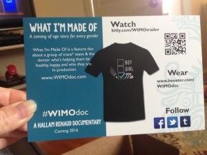 WIMO postcard