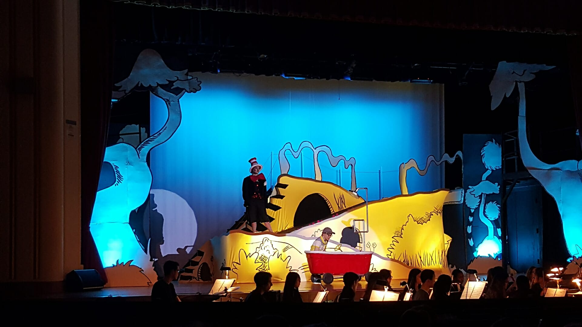 CHS theater show