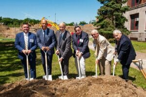 Groundbreaking for the new addition (2019)