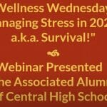"""Wellness Wednesdays"" Focuses on Stress in 2020"