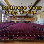 Auditorium Seat Sale