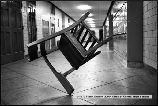 Frank Gruber's (229) balanced chair